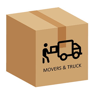movers and truck