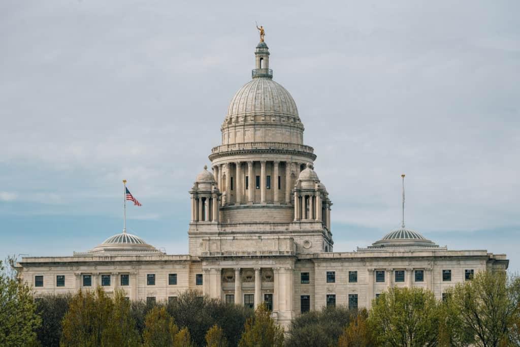 Rhode Island State House in Providence, RI