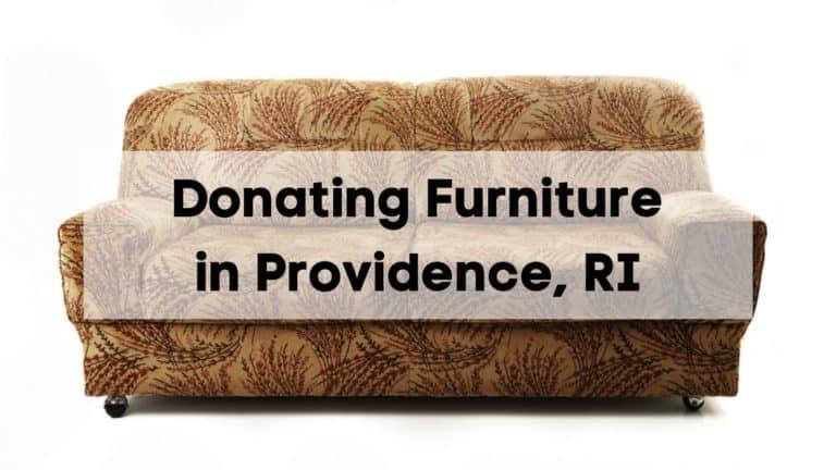 Donating Furniture in Providence, RI